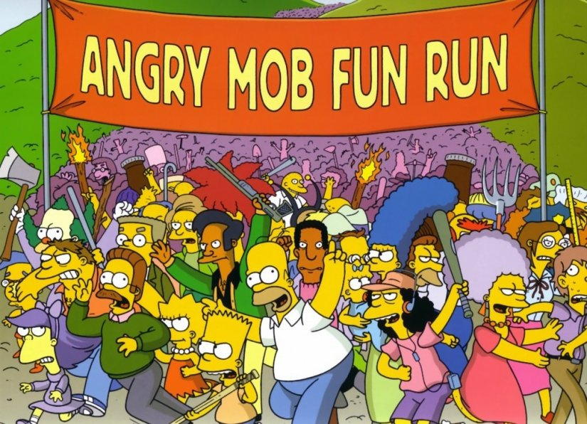 angrymobfunrun-simpsons-blog